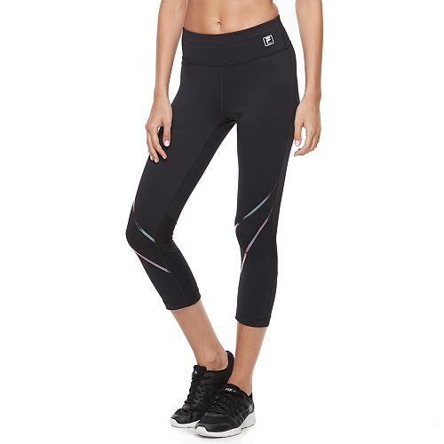Women's FILA SPORT® Racing Reflective Crop Leggings