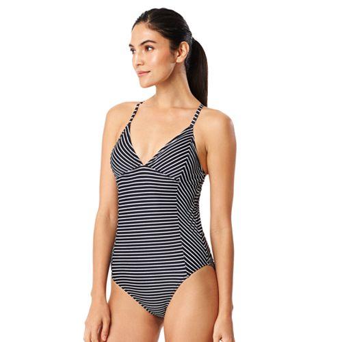 06c76c07da Women s Speedo Striped One-Piece Swimsuit