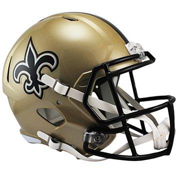 Riddell NFL New Orleans Saints Speed Replica Helmet