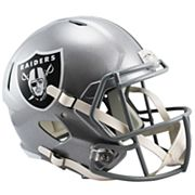 Riddell NFL Oakland Raiders Speed Replica Helmet