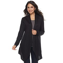 Women's Apt. 9® Brushed Flyaway Cardigan