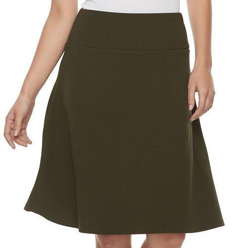 Women's Apt. 9® Slimming A-line Skirt