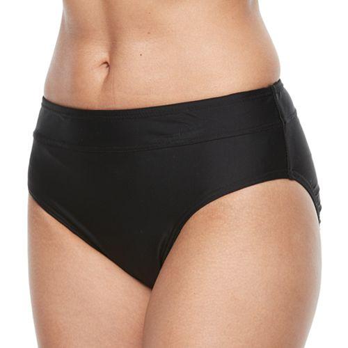 Women's Croft & Barrow® Midrise Scoop Bikini Bottoms