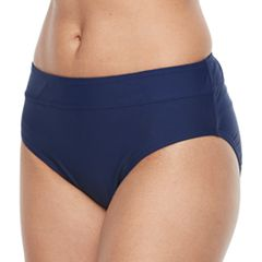 Women's Croft & Barrow® Midrise Scoop Bikini Bottoms