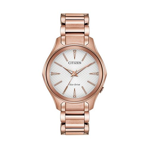 Citizen Eco-Drive Women's Modena Stainless Steel Watch - EM0593-56A