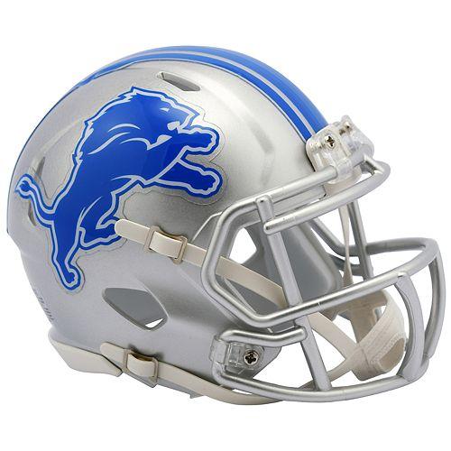 Riddell NFL Detroit Lions Speed Mini Replica Helmet