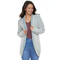 Juniors' Pink Republic Dolman Cocoon Cardigan