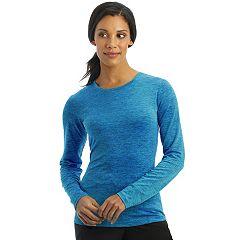 Women's Jockey Scrubs Performance RX Dry Comfort Long Sleeve Tee