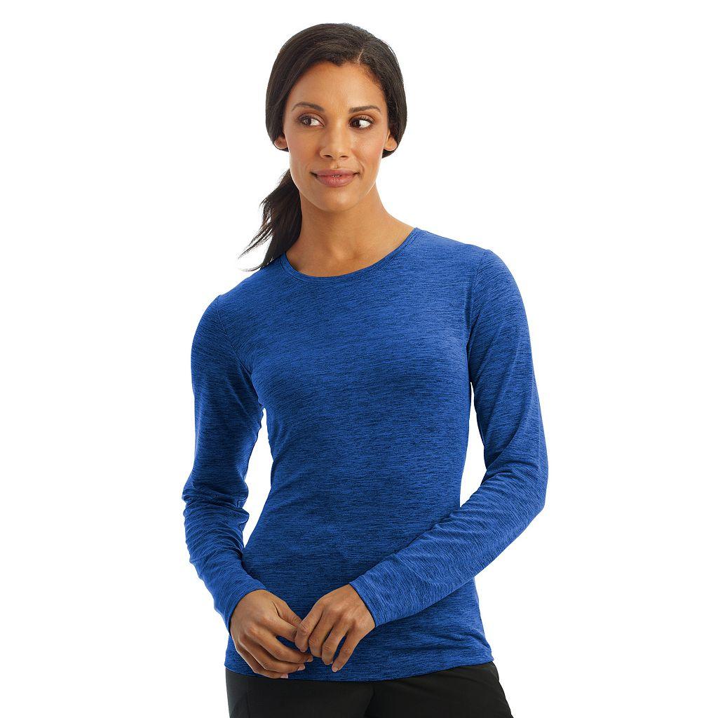 Plus Size Jockey Scrubs Performance RX Dry Comfort Long Sleeve Tee