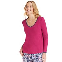 Women's Jockey Pajamas: Long Sleeve Top