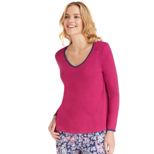 Women's Jockey Pajamas: Long Sleeve Top