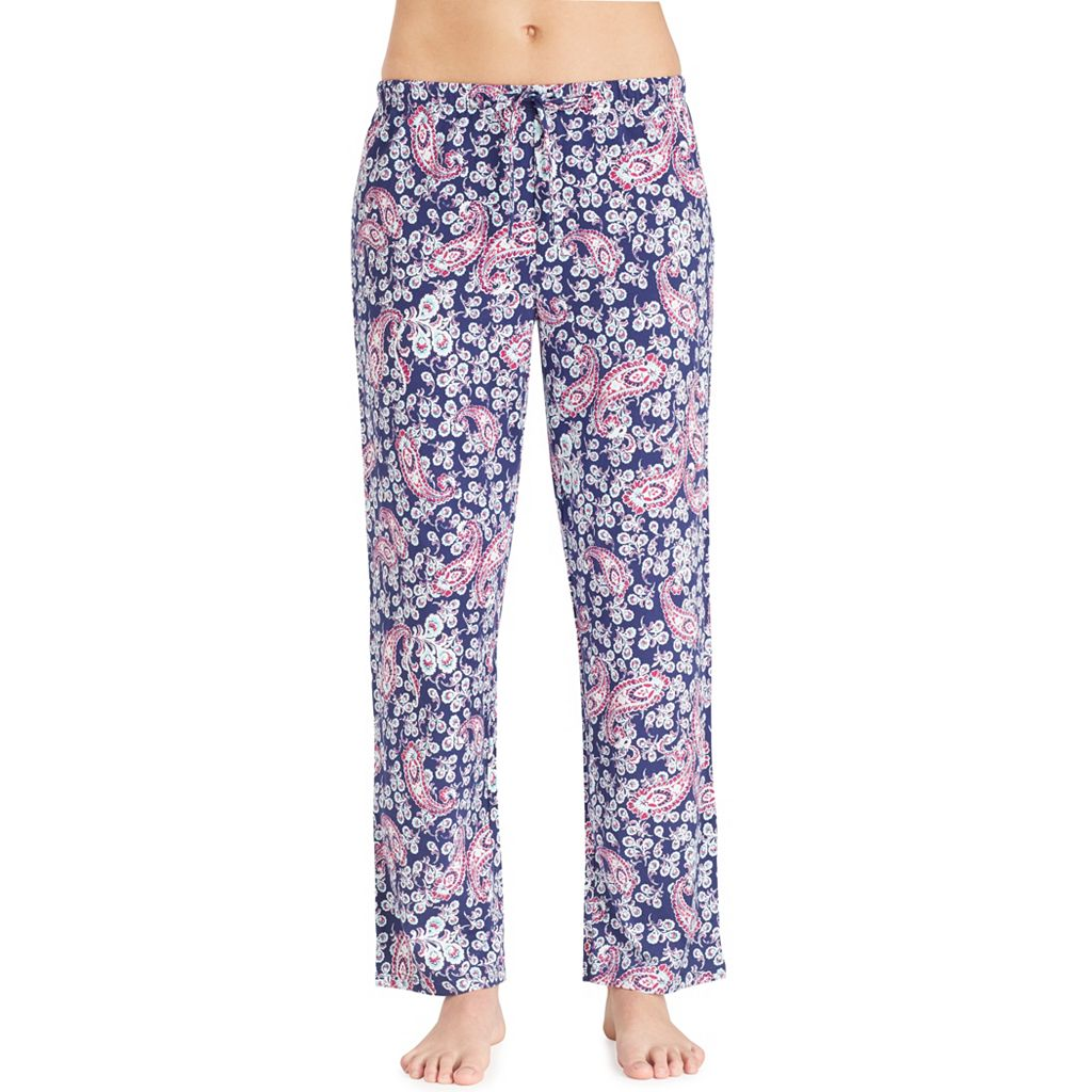 Women's Jockey Pajamas: Printed Long Pants