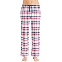 Women's Jockey Pajamas: Plaid Long Pants