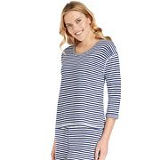 Women's Jockey Pajamas: Striped Top