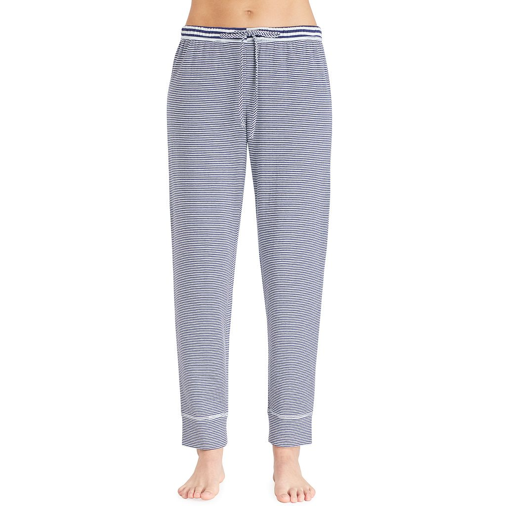 Women's Jockey Pajamas: Striped Long Pants