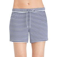 Women's Jockey Pajamas: Striped Boxer Shorts