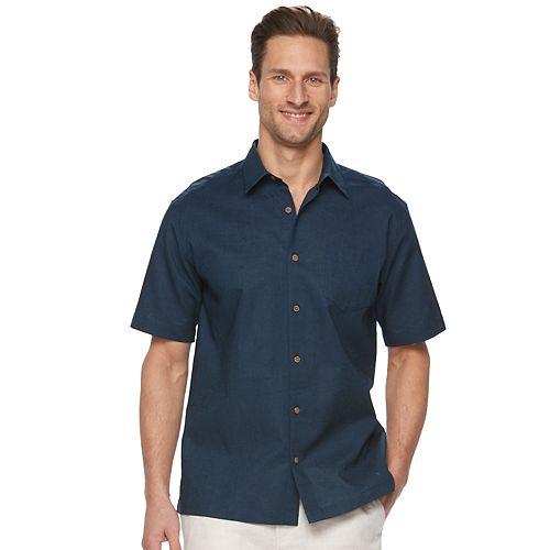 Men's Havanera Solid Button-Down Shirt