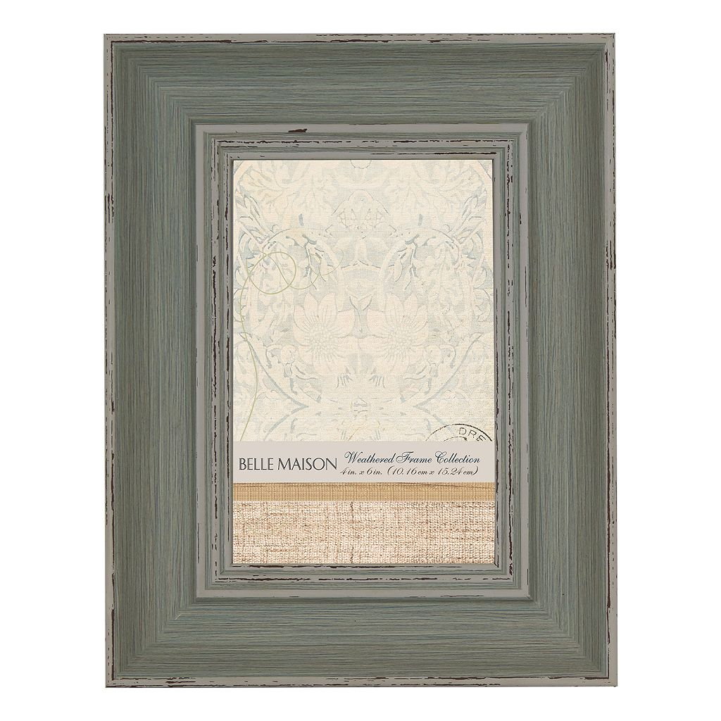 Belle Maison Weathered Light Blue Frame