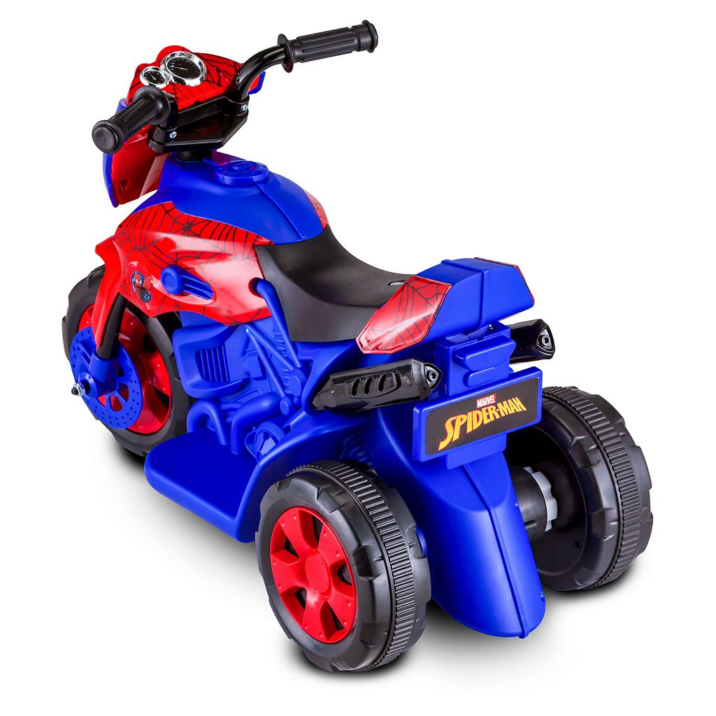 Marvel Spider-Man Motorcycle Ride-On