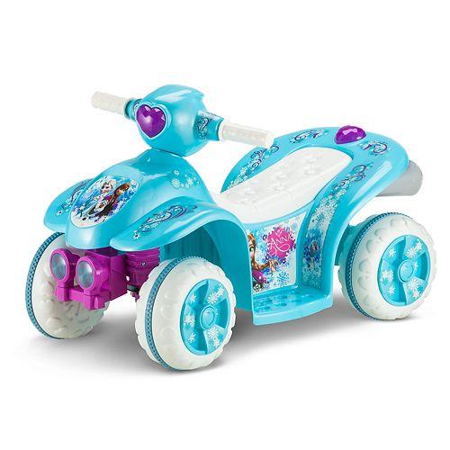 Disney's Frozen Blue Quad Ride-On