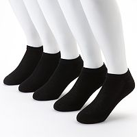 Men's Hanes X-Temp 5-pack + 1 Bonus No-Show Socks