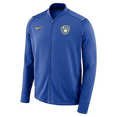 Men's Nike Milwaukee Brewers Dry Knit Jacket