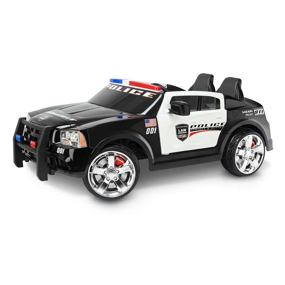 Dodge Charger Police Car Pursuit Ride-On