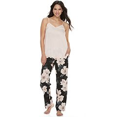 Women's Apt. 9® Pajamas: Lace Trim Cami & Pants Set