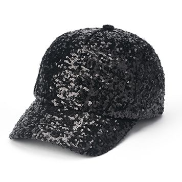 madden NYC Women's Sequined Baseball Cap
