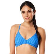 Women's Speedo Striped Strappy Bikini Top