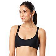 Women's Speedo Keyhole Strappy Bikini Top
