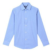 Boys 6-20 Chaps Gingham Button-Down Shirt