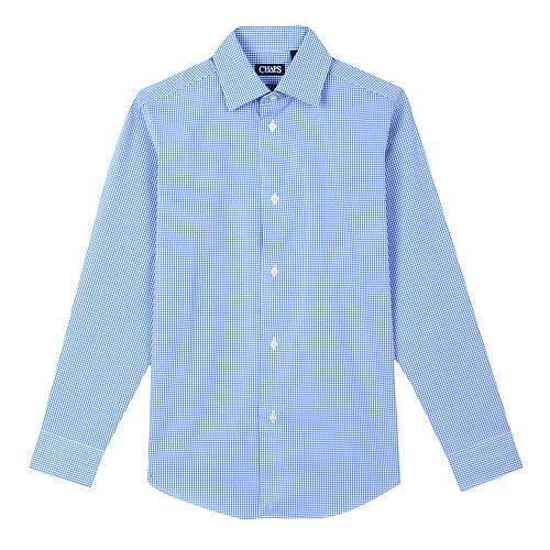 Boys 6-20 Chaps Gingham Button-Down Shirt