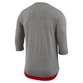 Men's Nike St. Louis Cardinals Flux Henley