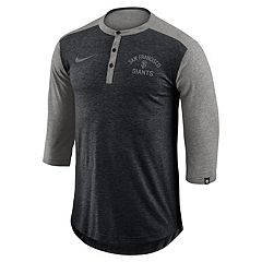 Men's Nike San Francisco Giants Flux Henley