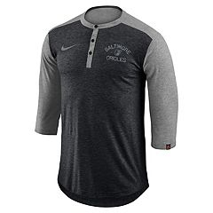 Men's Nike Baltimore Orioles Flux Henley