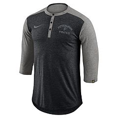Men's Nike Pittsburgh Pirates Flux Henley