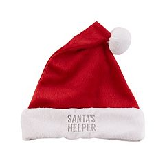 Toddler Carter's 'Santa's Helper' Santa Hat