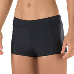 Women's Speedo Solid Boyshort Bottoms