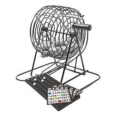J.B. Nifty Bingo Game Set