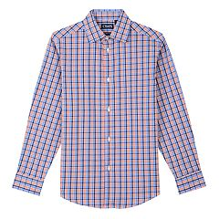 Boys 8-20 Chaps Stretch Button-Down Plaid Shirt