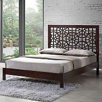 Baxton Studio Sakuro Modern Platform Bed