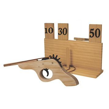 J.B. Nifty Rubber Band Shooter Game
