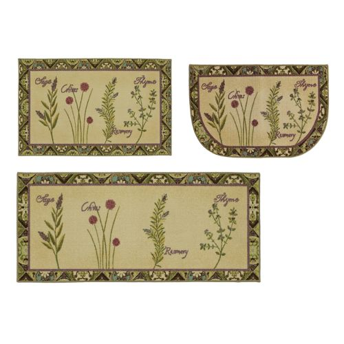 Mohawk® Home Herb Tiles Kitchen Rug