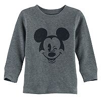 Disney's Mickey Mouse Baby Boy Winking Thermal Tee by Jumping Beans®