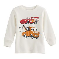 Disney / Pixar Cars 3 Baby Boy Lightning McQueen & Mater Thermal Tee by Jumping Beans®