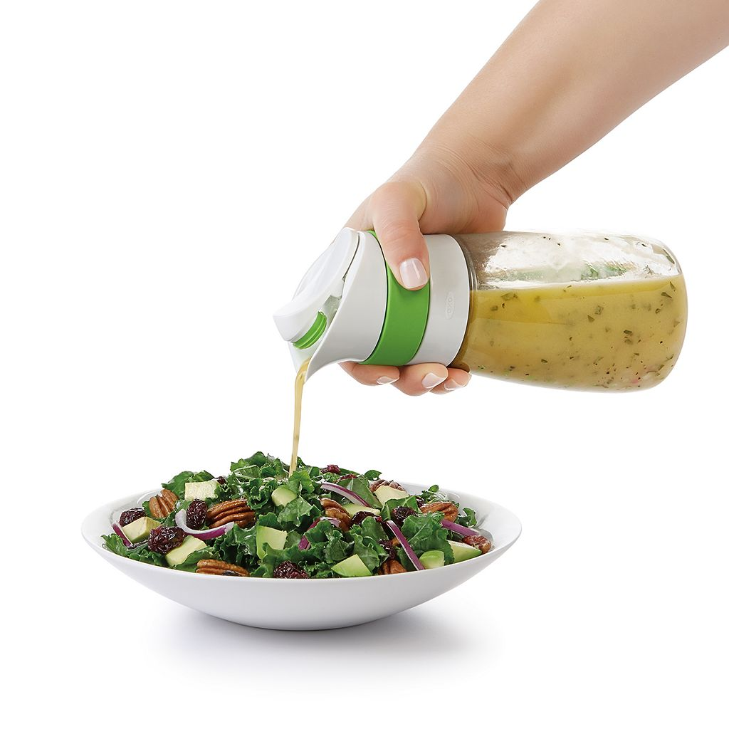 OXO Good Grips Twist & Pour Salad Dressing Mixer