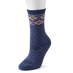 Women's SONOMA Goods for Life™ Fair Isle Crew Socks