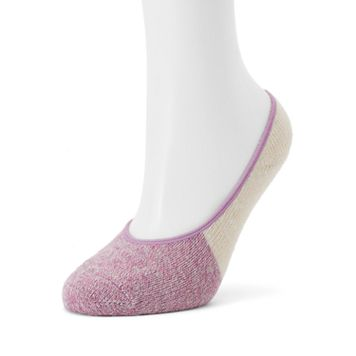 Women's SONOMA Goods for Life™ Two Tone Marled Liner Socks