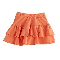 Girls 4-10 Jumping Beans® Tiered Solid Tulip Skort